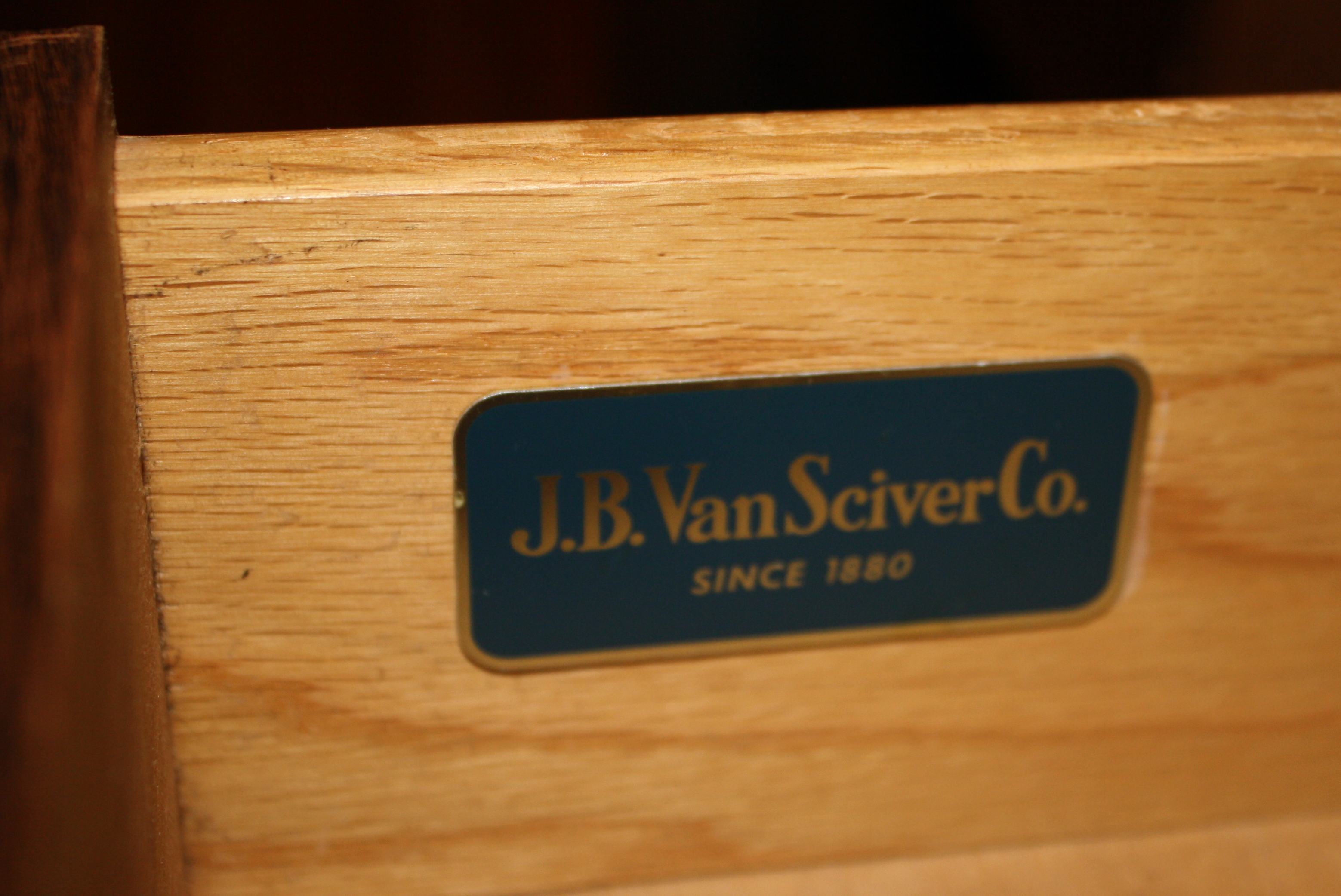 J B Van Sciver Co Side End Tables Beautiful Wood
