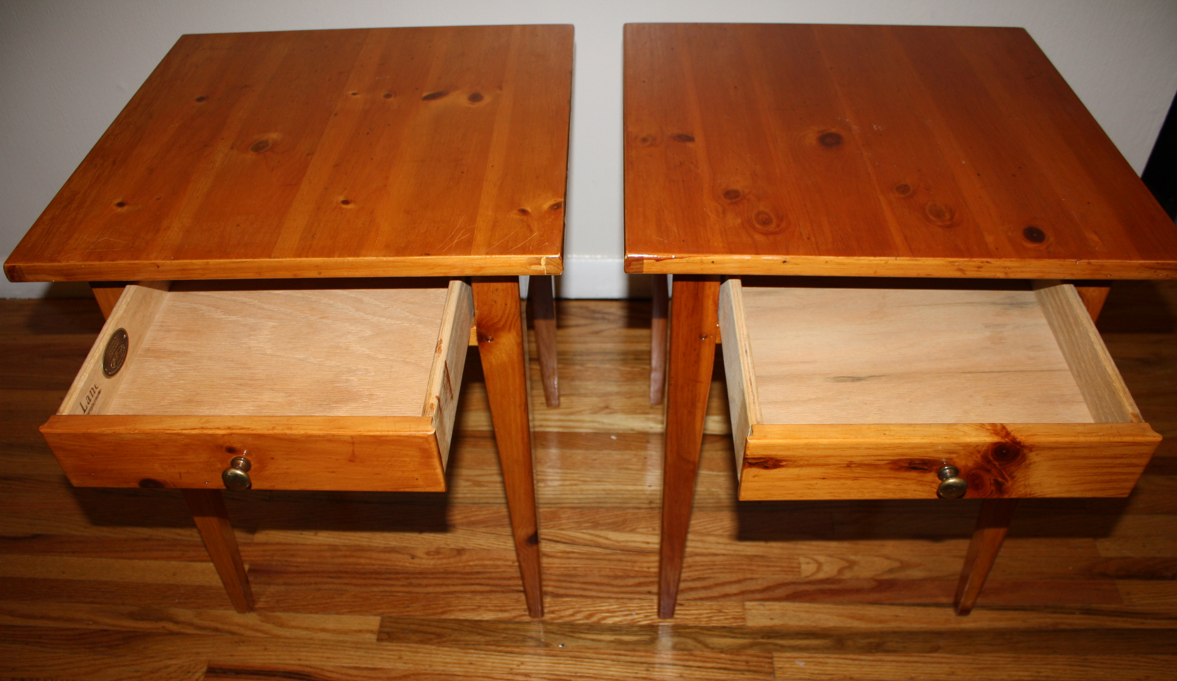 Vintage Lane Side End Tables Picked Vintage