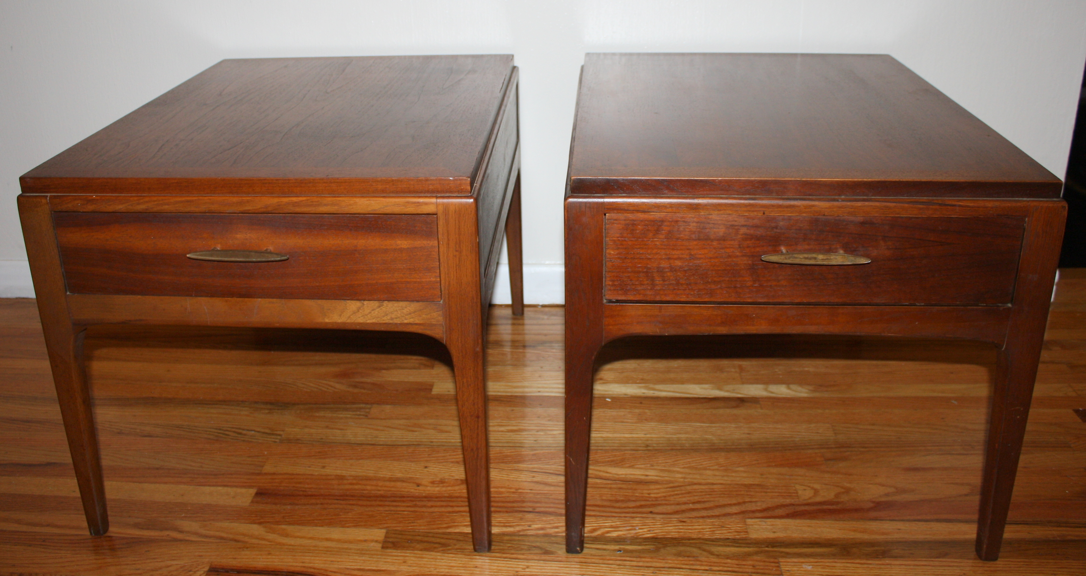 Mid Century Modern Lane Side End Tables Picked Vintage