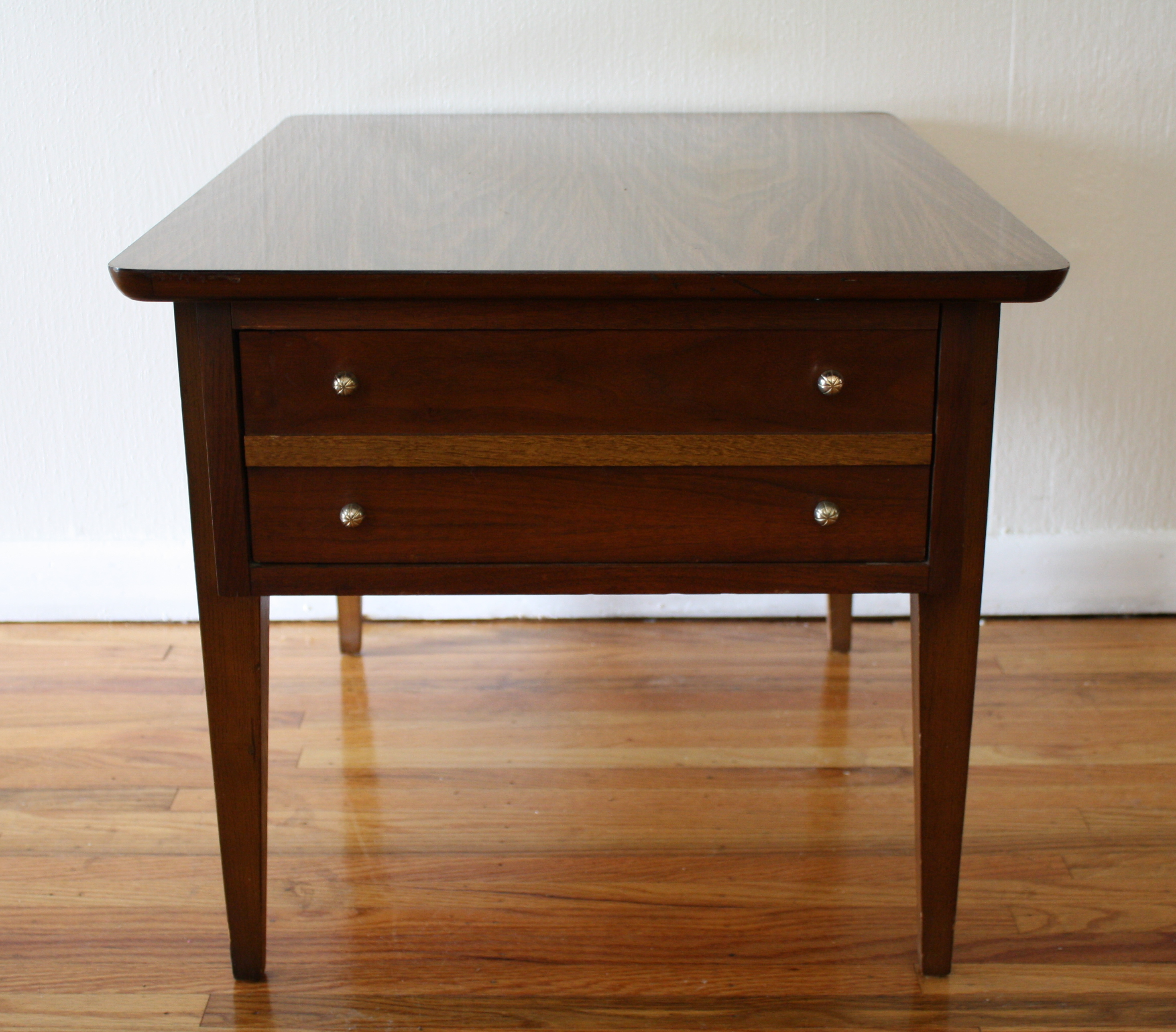 Mid Century Lane Copenhagen Drop Leaf Coffee Table: Mid Century Modern Lane Side End Table