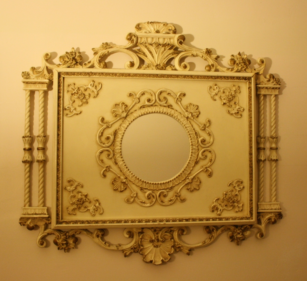 french provincial mirror provincial picked vintage 1106