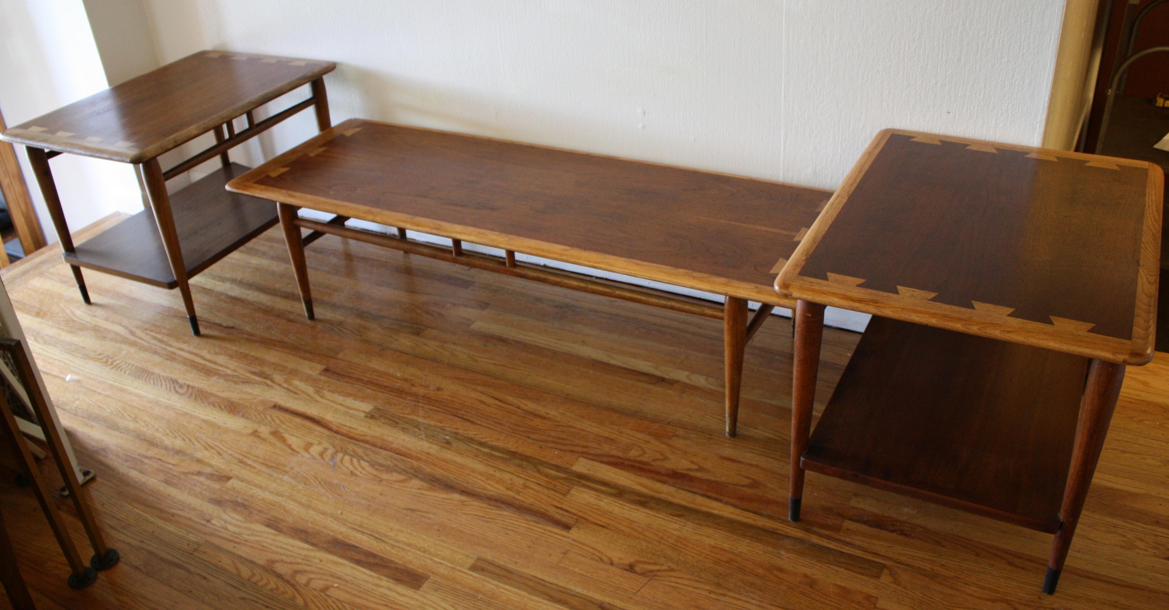Mid Century Modern Lane Acclaim Coffee Table Picked Vintage
