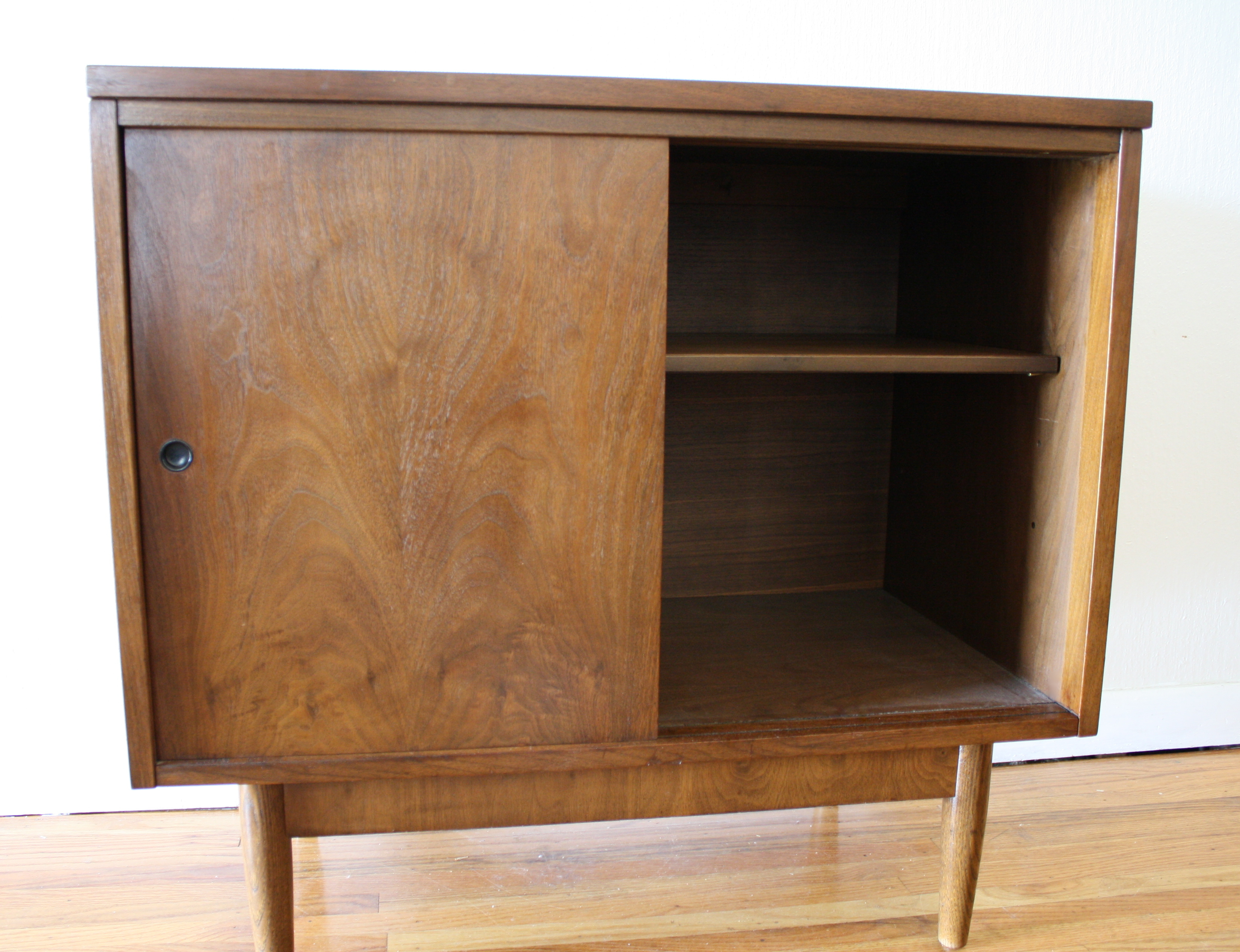 Mid Century Modern Cabinets With Sliding Doors Picked