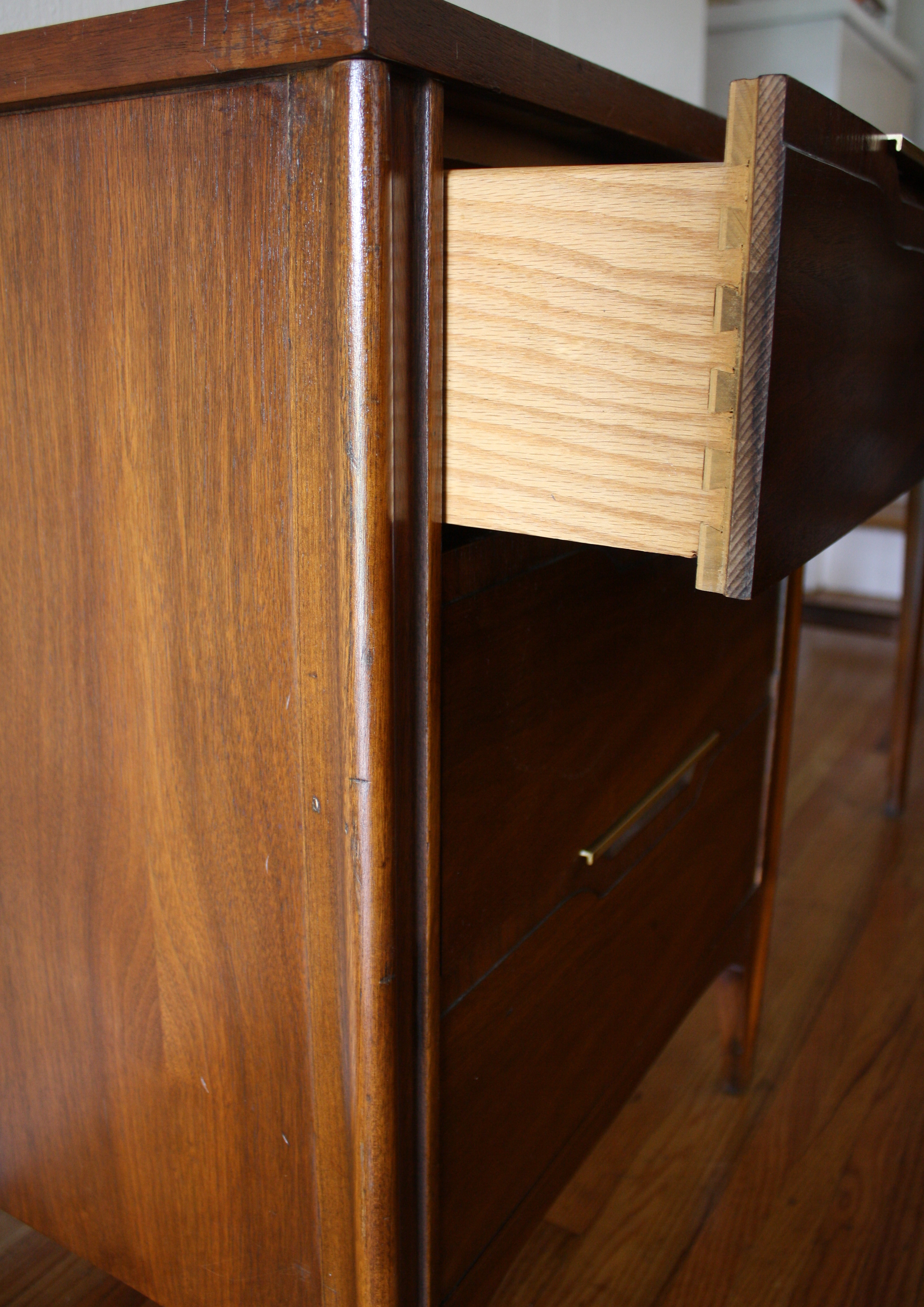 Mid Century Modern Desk By Kent Coffey Impact Collection