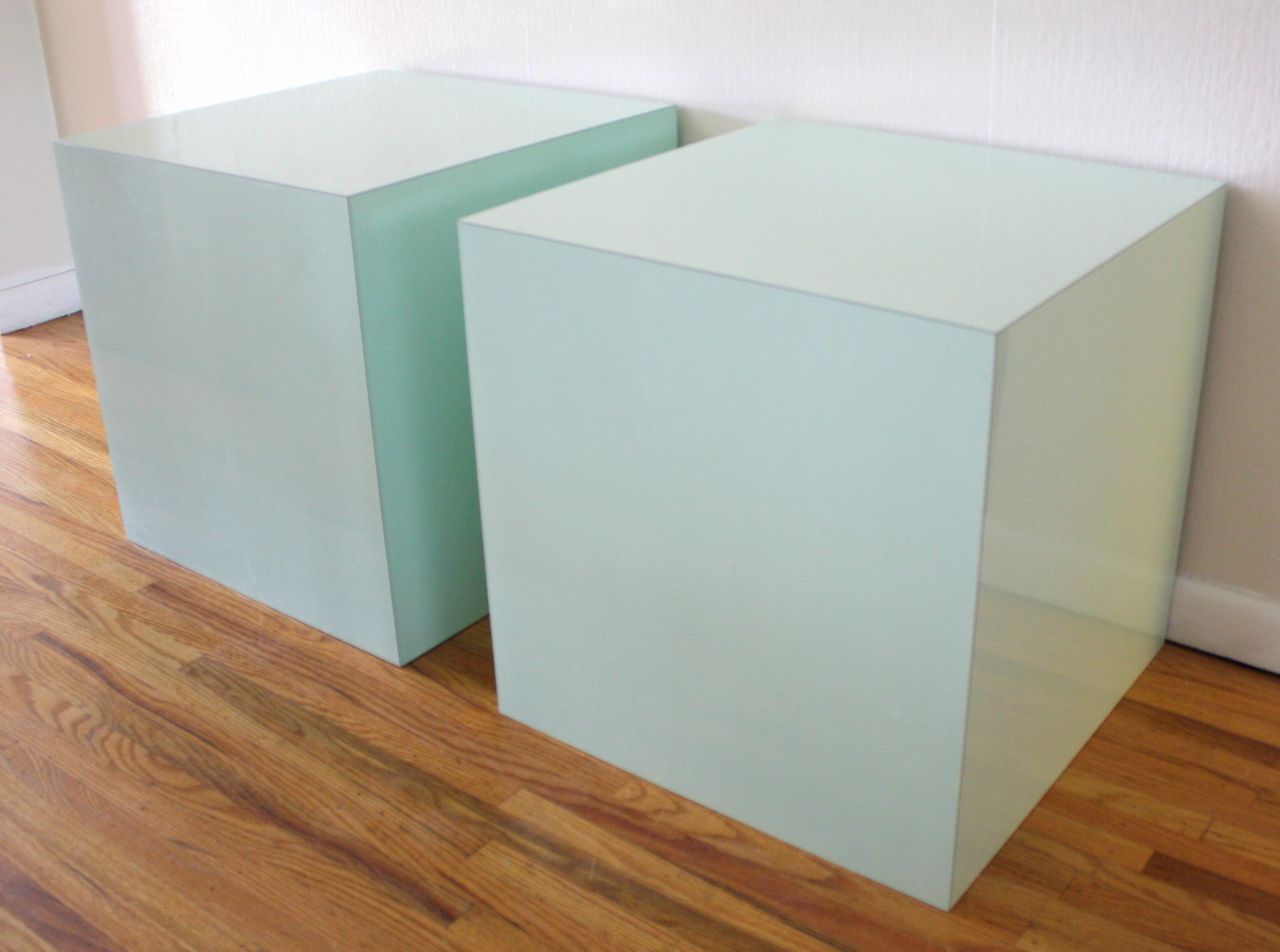 Vintage Formica Cubes In Aqua Picked Vintage