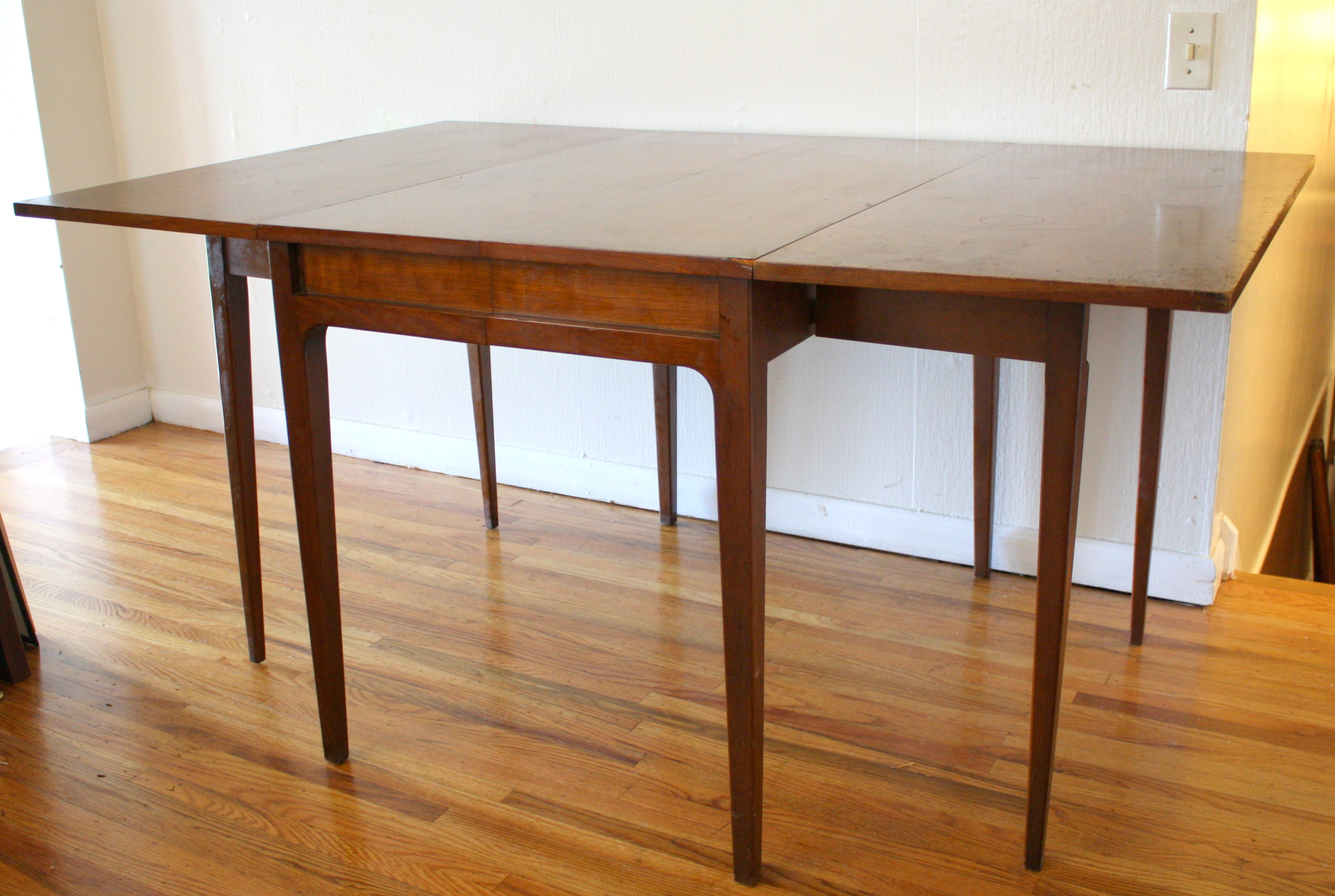 Mid Century Modern Gateleg Table By Drexel Picked Vintage