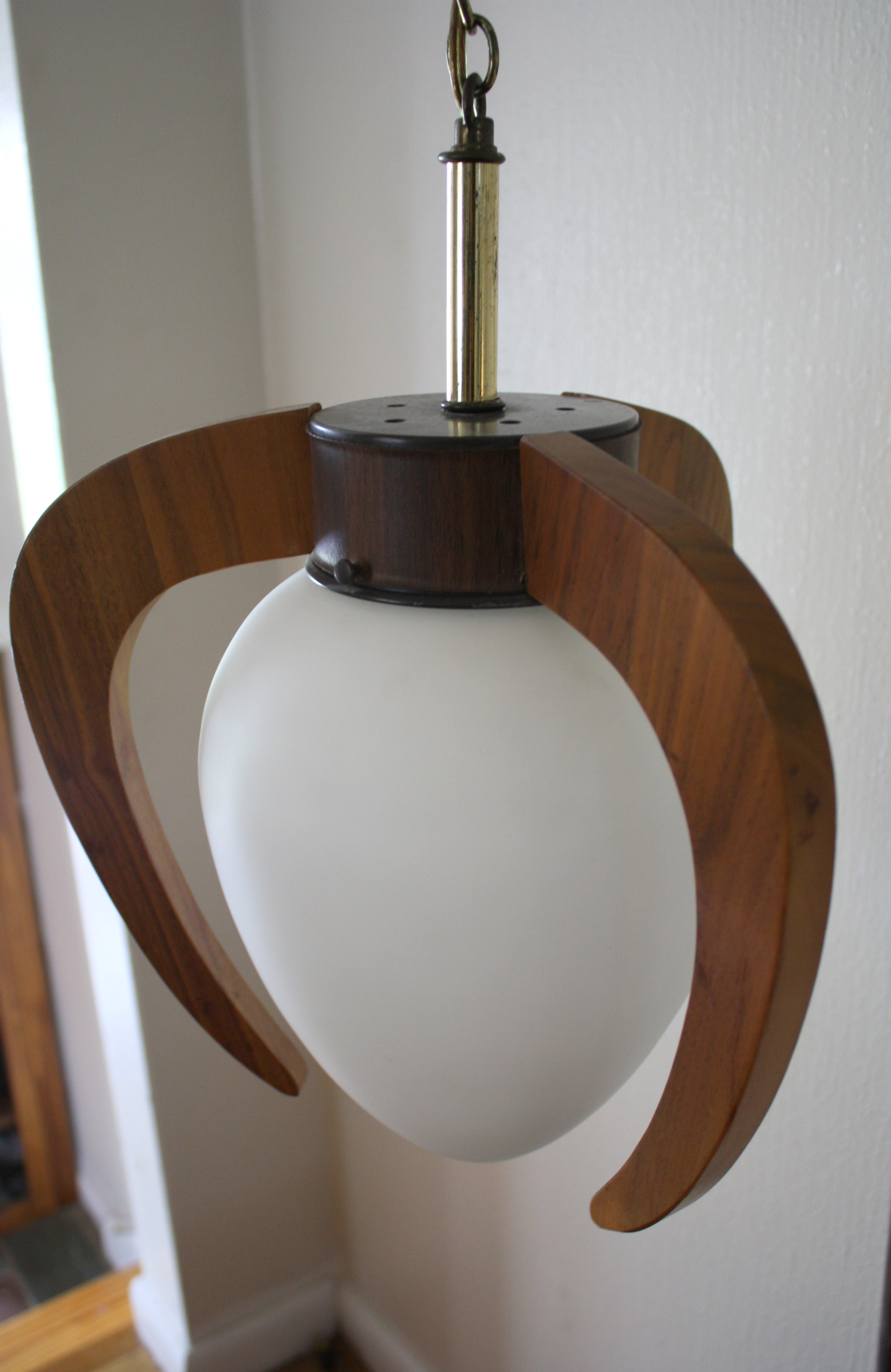 Mid Century Modern Pendant Lamp Table Combination Picked
