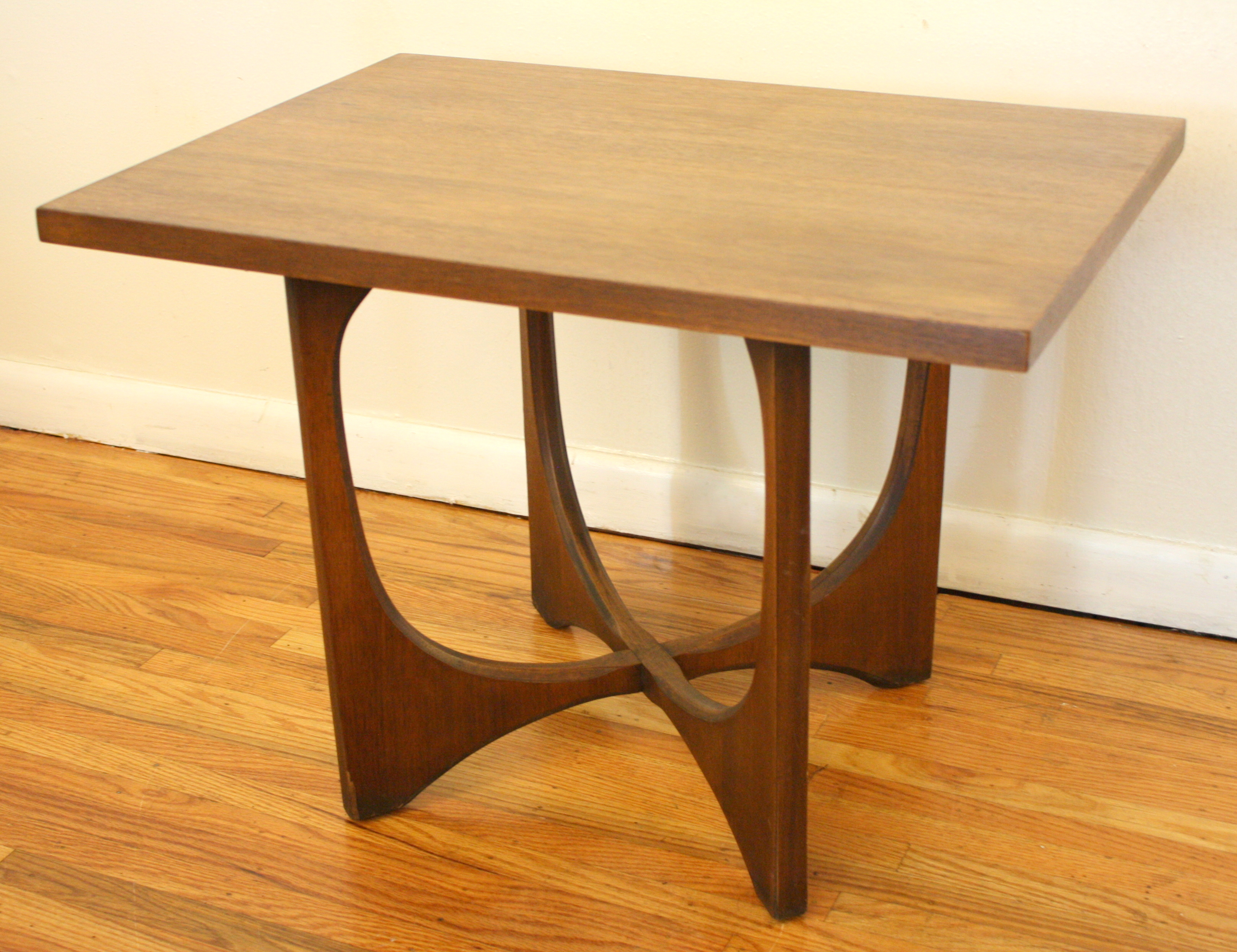 J B Van Sciver Mid Century Modern Coffee Table and Side Table