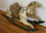 Antique rocking horse 2