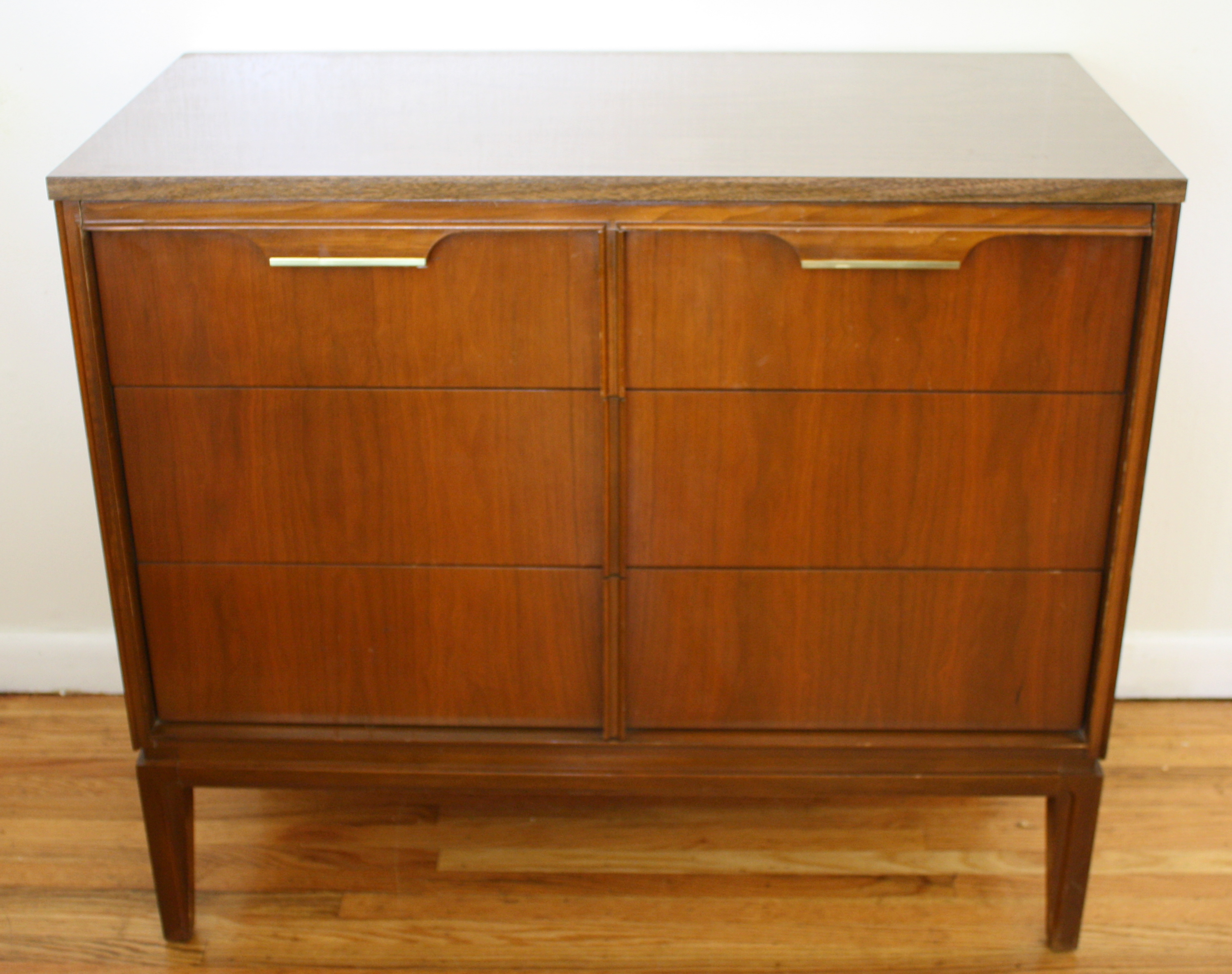 Mid Century Modern Mini Dresser And Mini Credenza By Basic