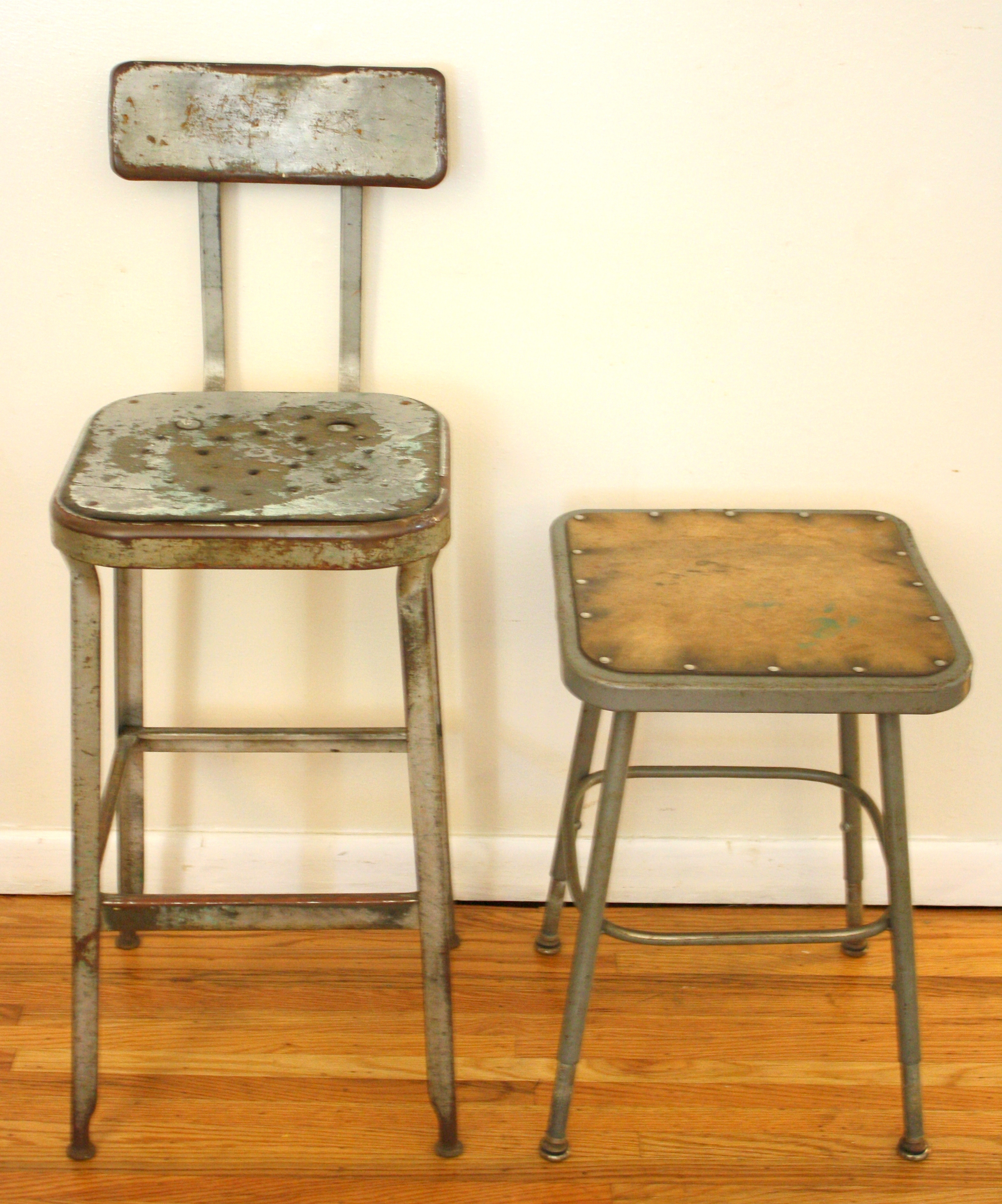 industrial stools drafting and adjustable square shop