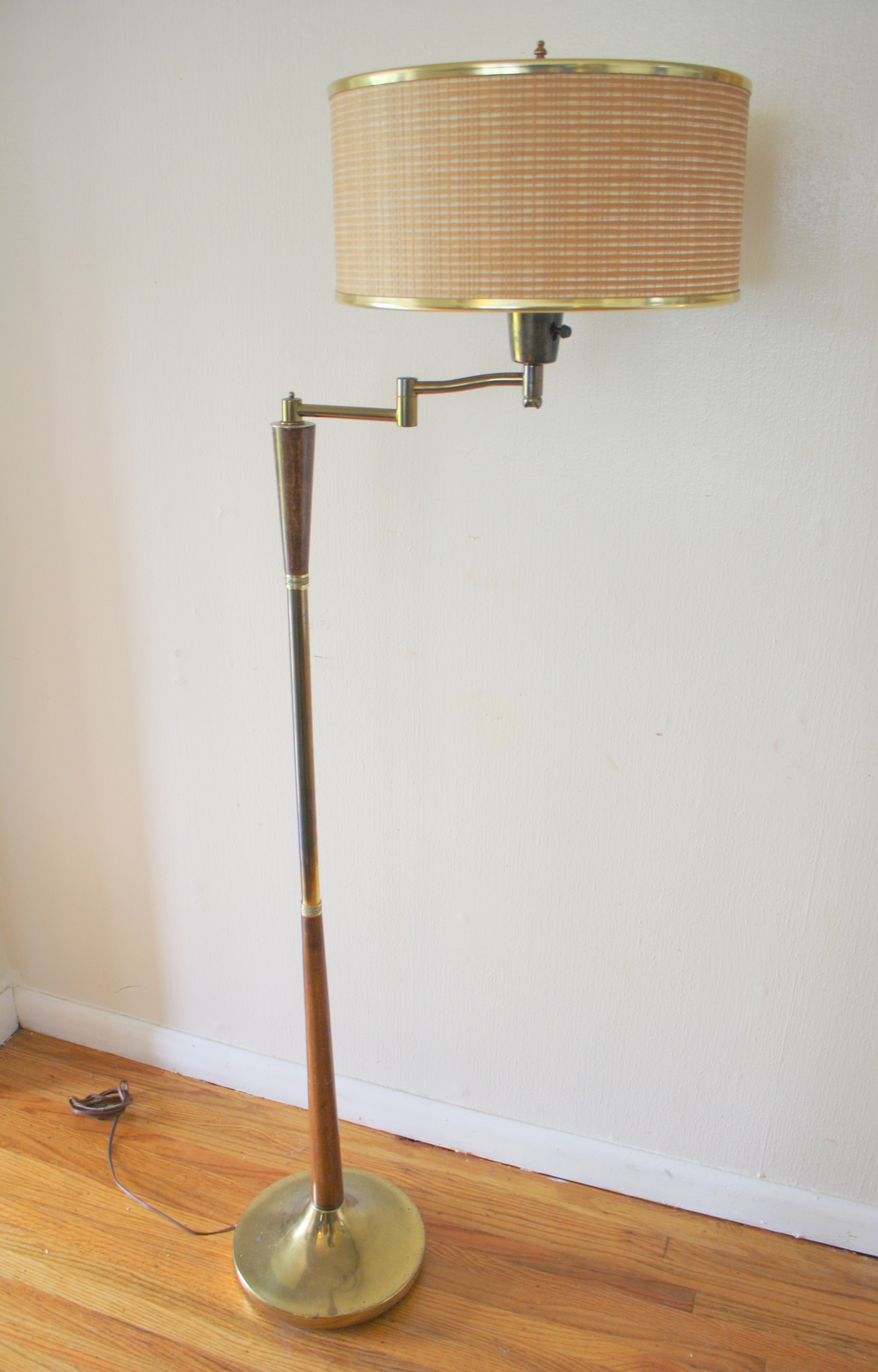 Mid Century Modern Swing Arm Floor Lamps Picked Vintage