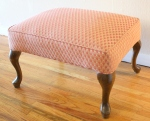 pink scale ottoman 1