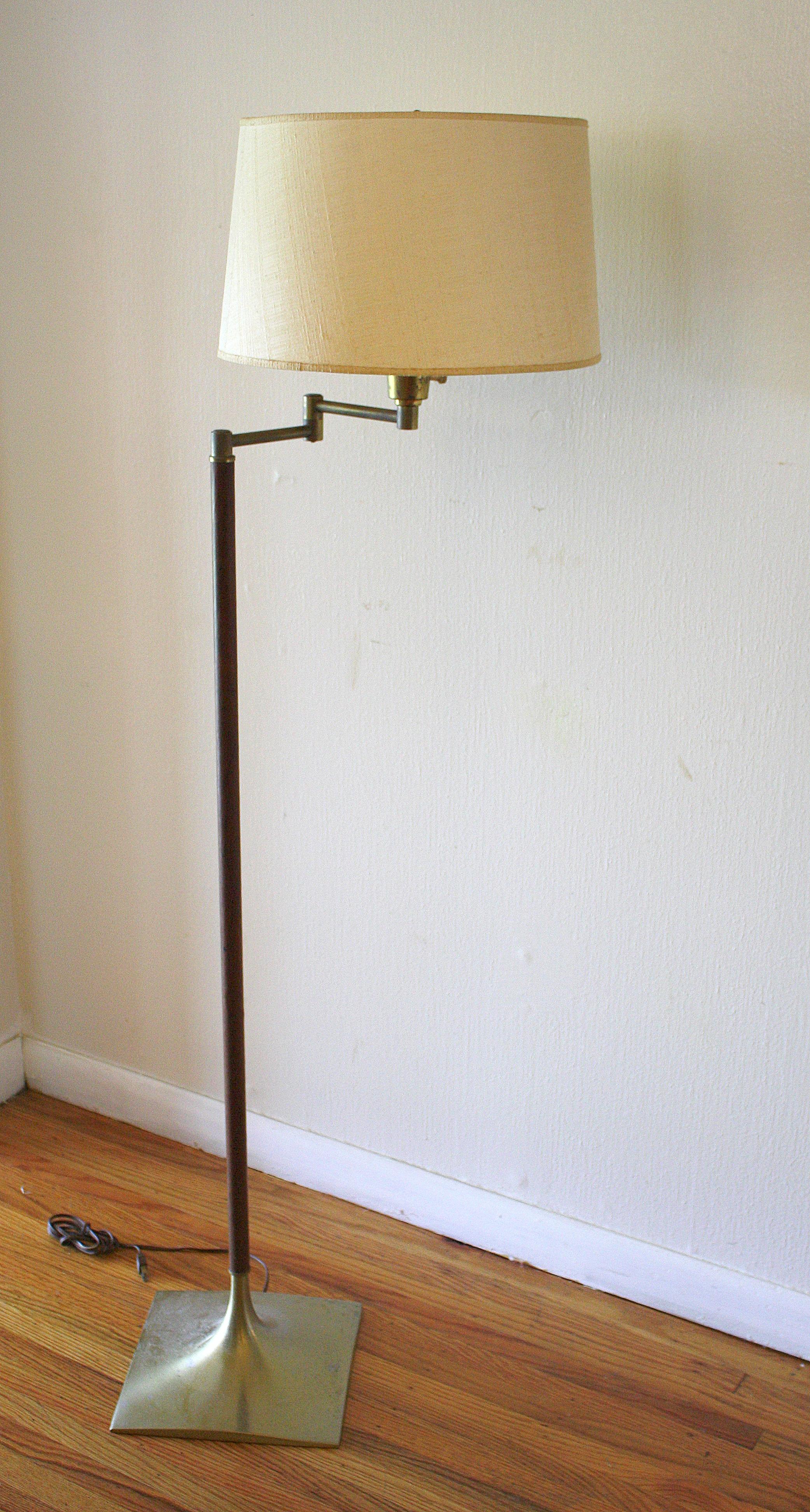Vintage Herman Miller Chairs >> Mid Century Modern Swing Arm Floor Lamps | Picked Vintage