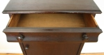 antique mahogany record cabinet 2