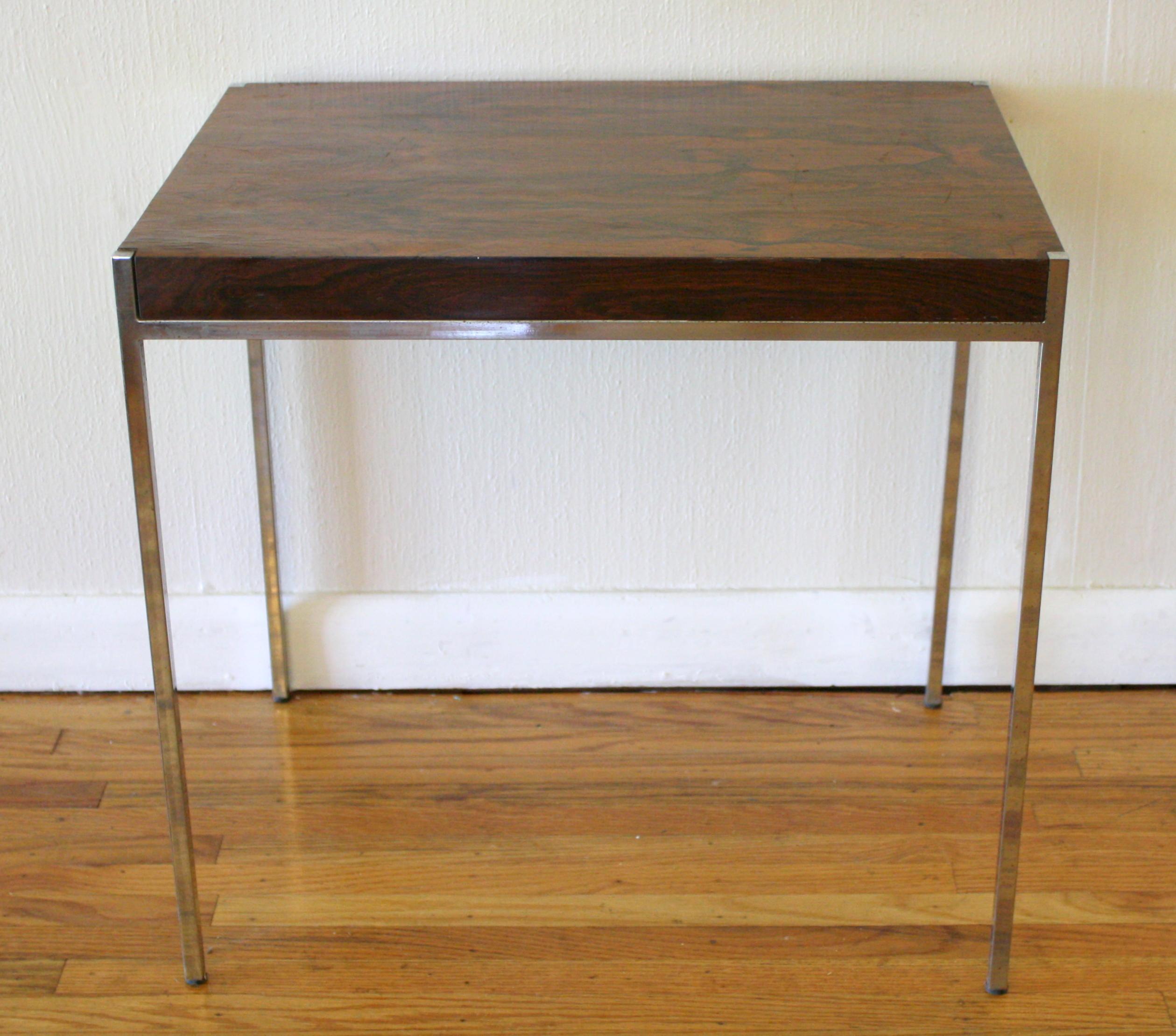 Charmant Milo Baughman Style Side Table 2