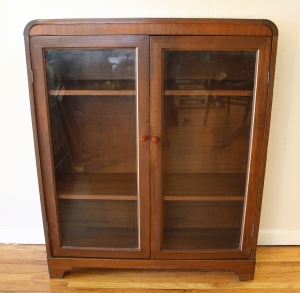 art deco bookcase 1