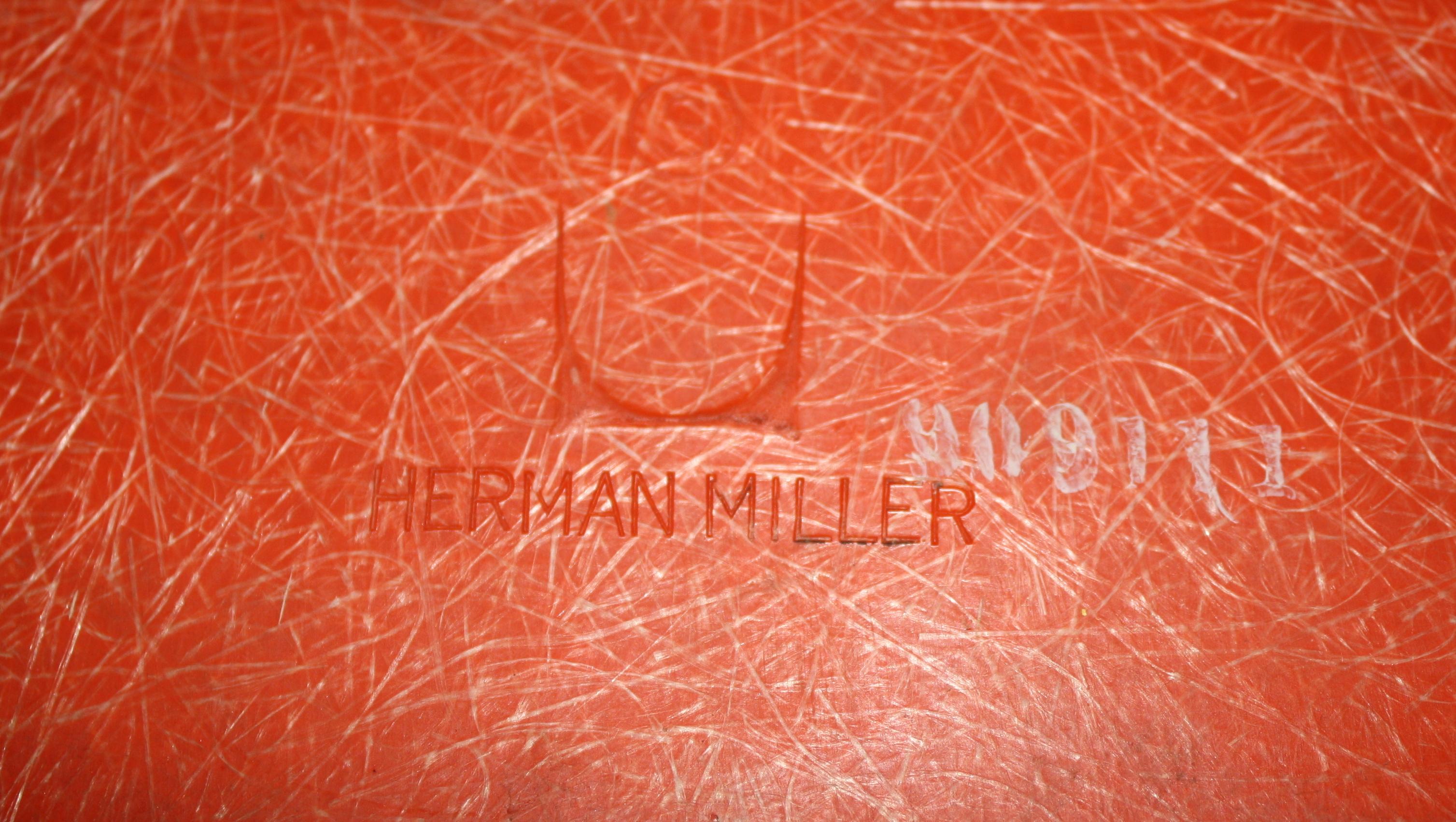 Herman Vintage By Modern Century Mid MillerPicked Fiberglass Chairs 6b7vfgyY