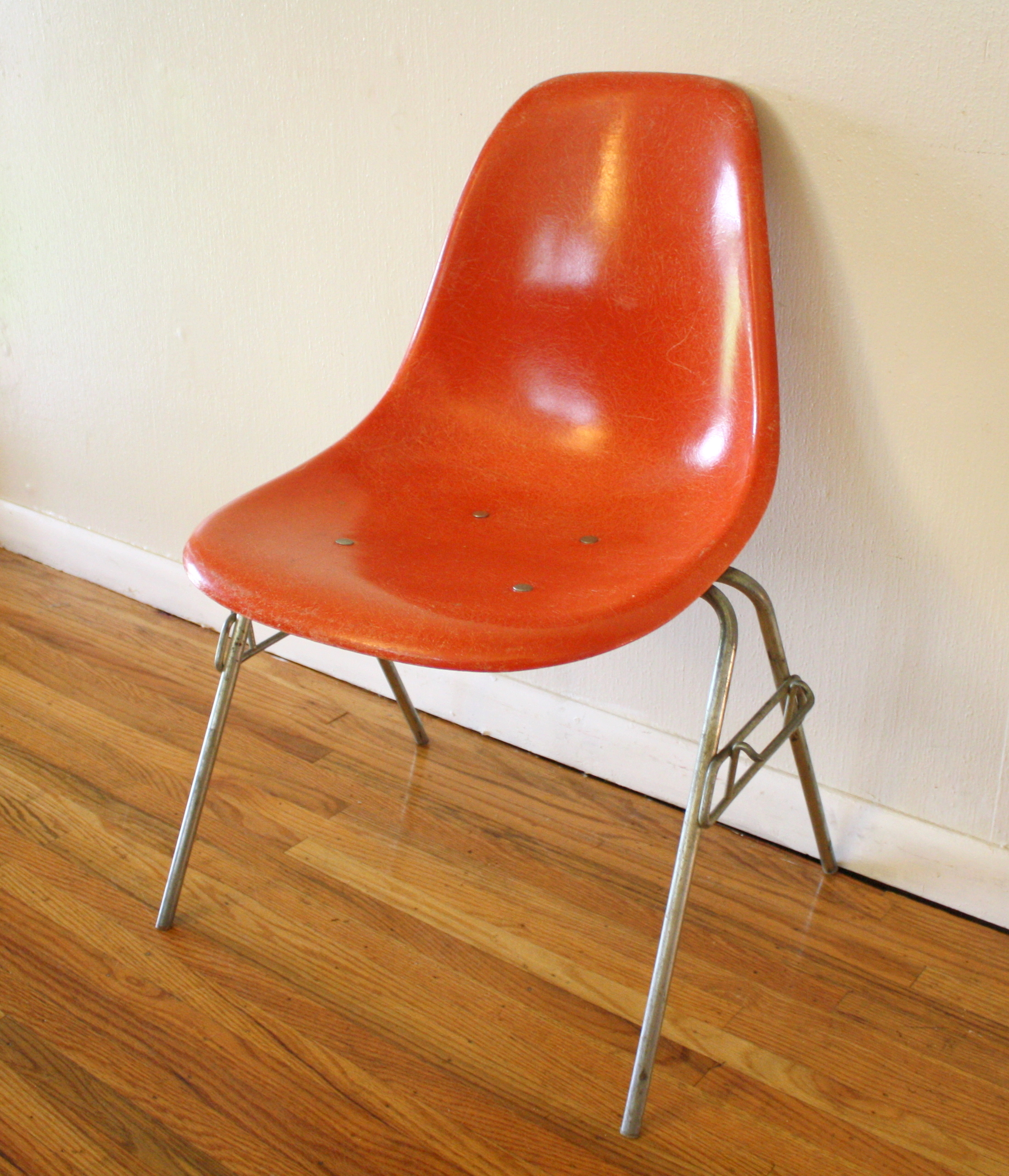 Herman Miller Orange Chair 4
