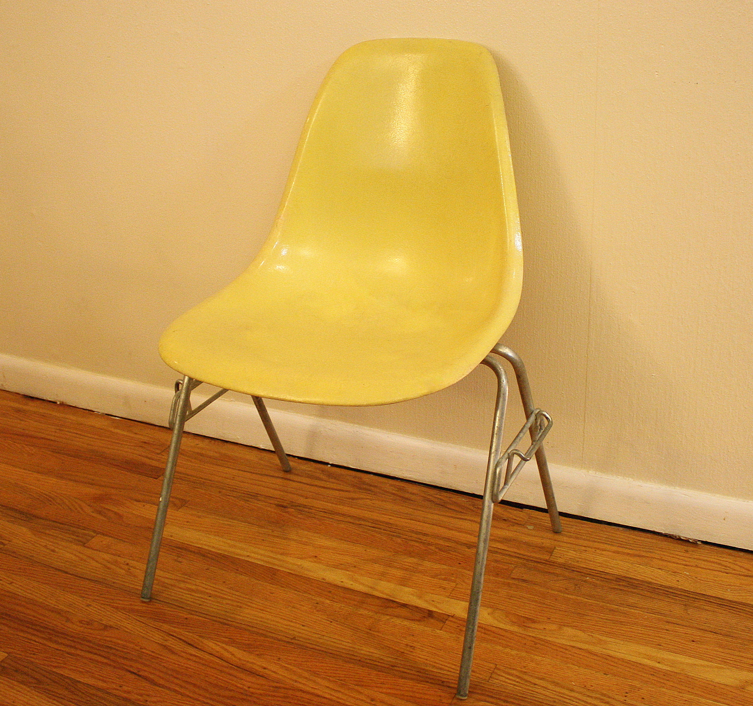 Mid Century Modern Fiberglass Chairs by Herman Miller