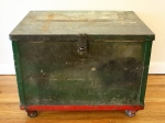 Antique military trunk 2