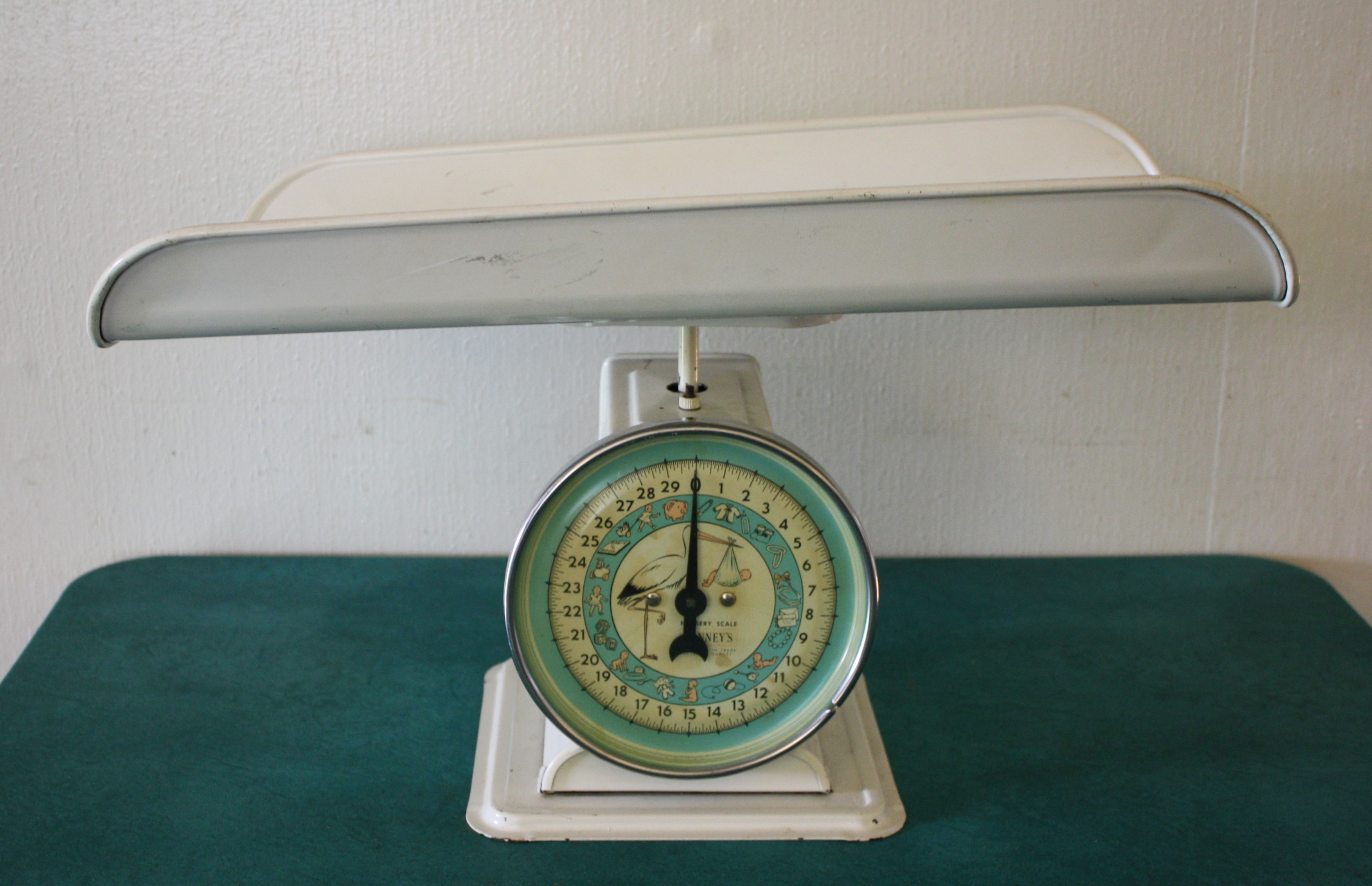Antique Nursery Scale 2 Picked Vintage