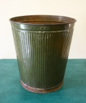 industrial green trash can 1