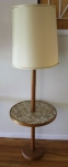 Mid Century Modern Floor Lamps With Tile Top Tables Picked Vintage
