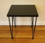mcm black hairpin side table 2