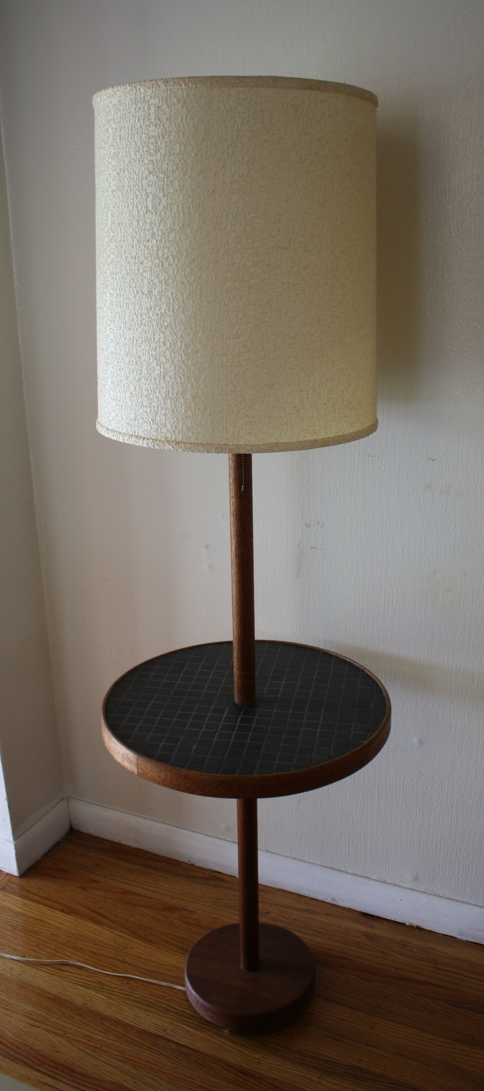 mid century modern floor lamps with tile top tables picked vintage. Black Bedroom Furniture Sets. Home Design Ideas