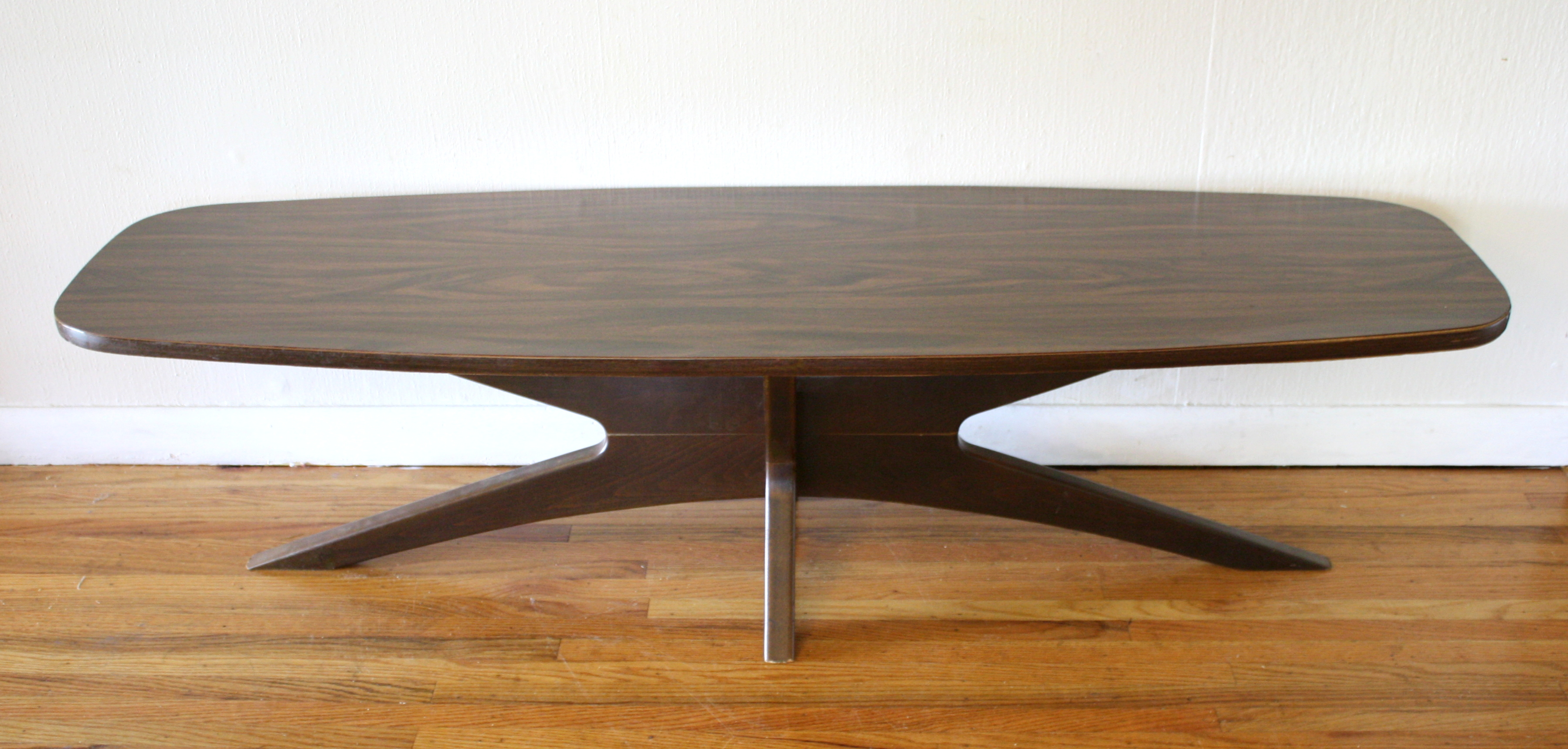Mid Century Modern Surfboard Coffee Tables Picked Vintage