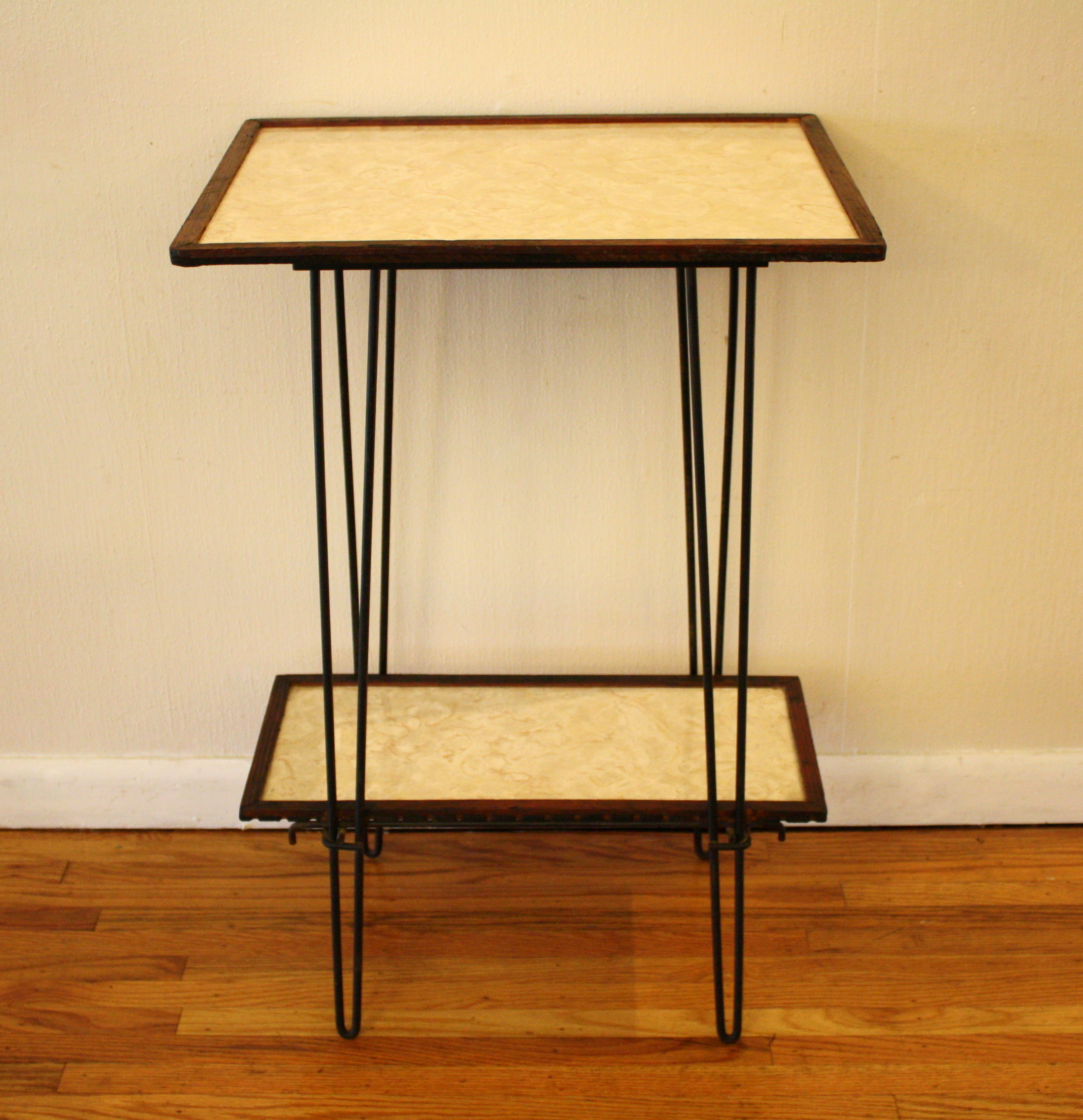 Mid Century Modern Hairpin Side Tables Picked Vintage