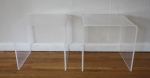 mcm lucite side tables 2
