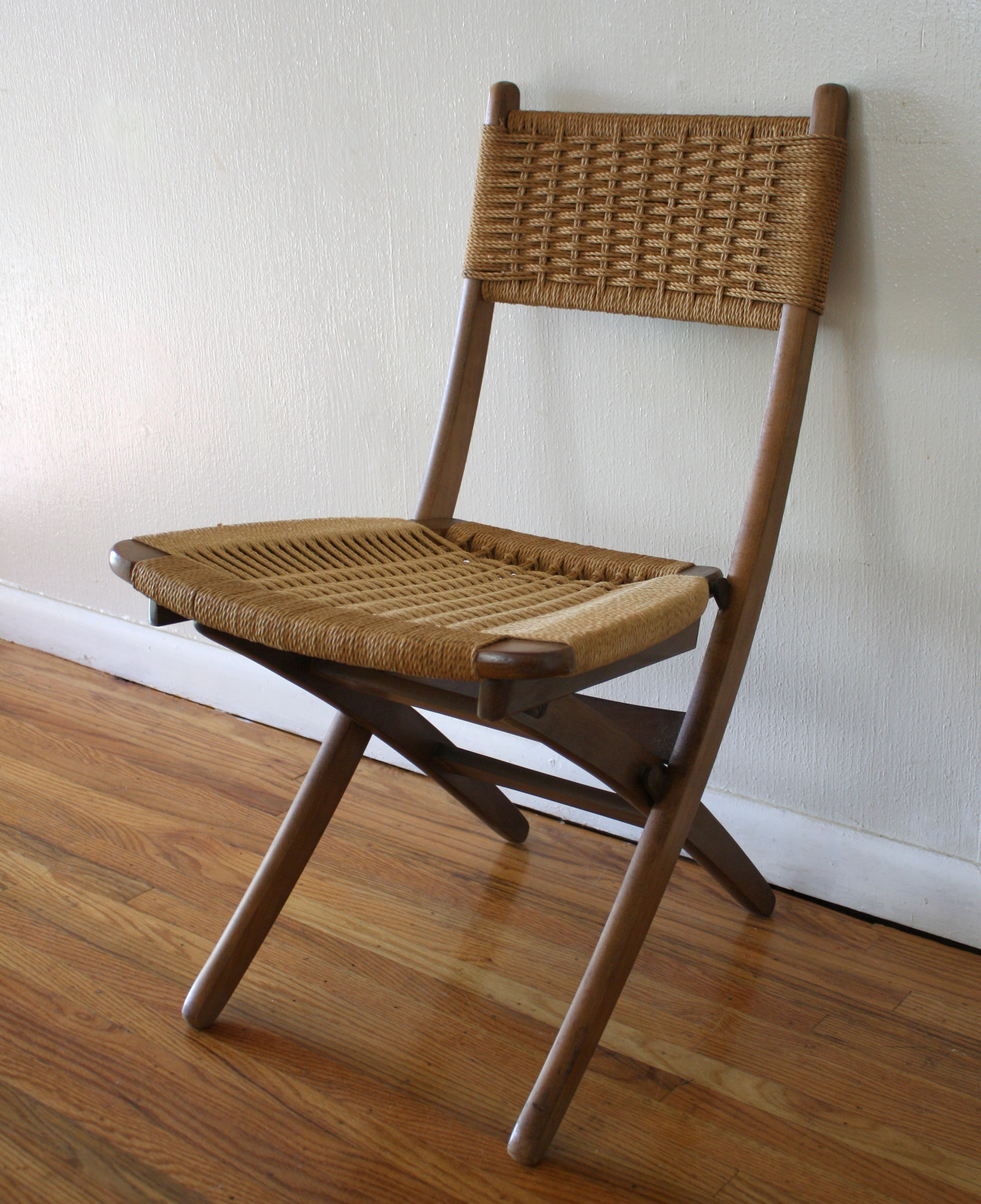 Mcm Woven Chair 2 Picked Vintage