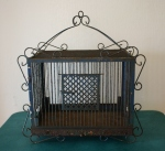 antique birdcage 1
