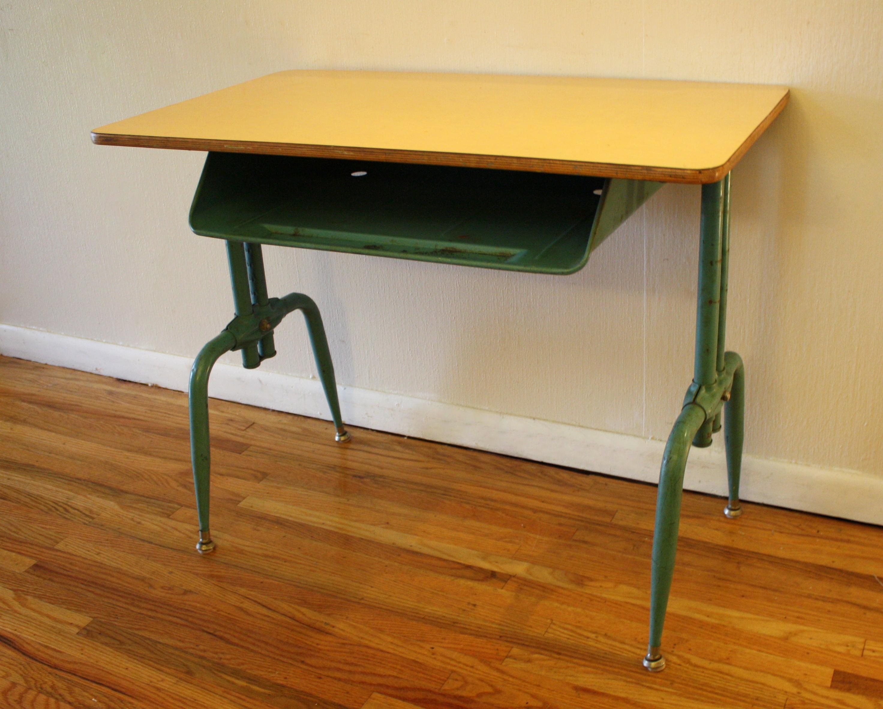 Antique School Desk Picked Vintage : antique school desk from pickedvintage.com size 2944 x 2364 jpeg 2945kB
