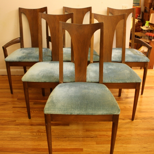 Broyhill Brasilia dining chairs 1