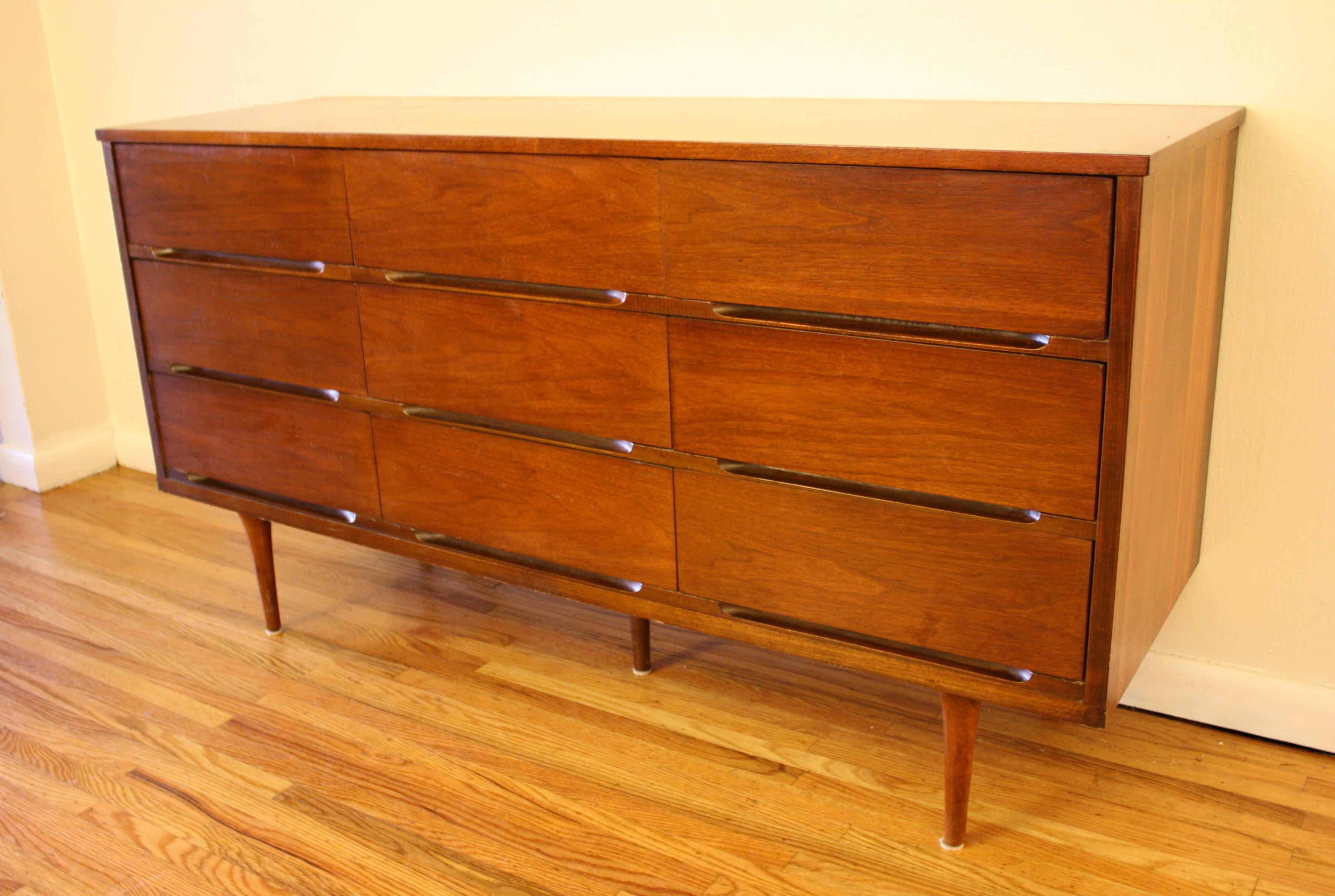 Mid Century Modern Low Dresser Credenzas Picked Vintage
