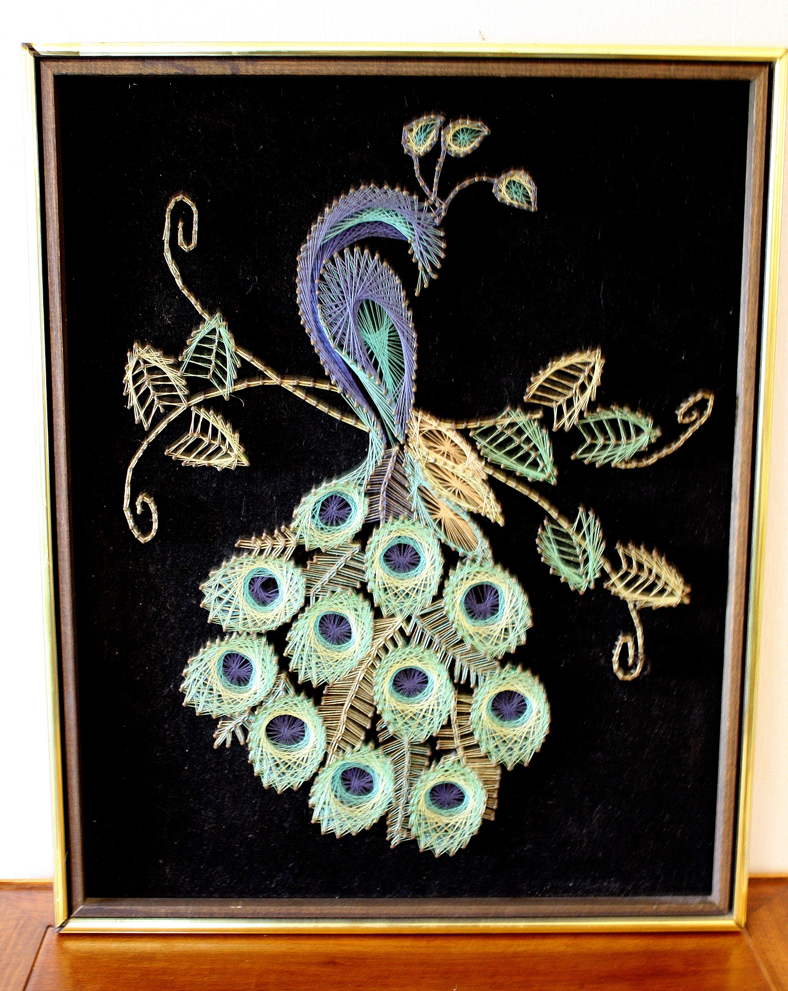 peacock art 1 Picked Vintage : peacock art 1 from pickedvintage.com size 2580 x 3247 jpeg 5363kB