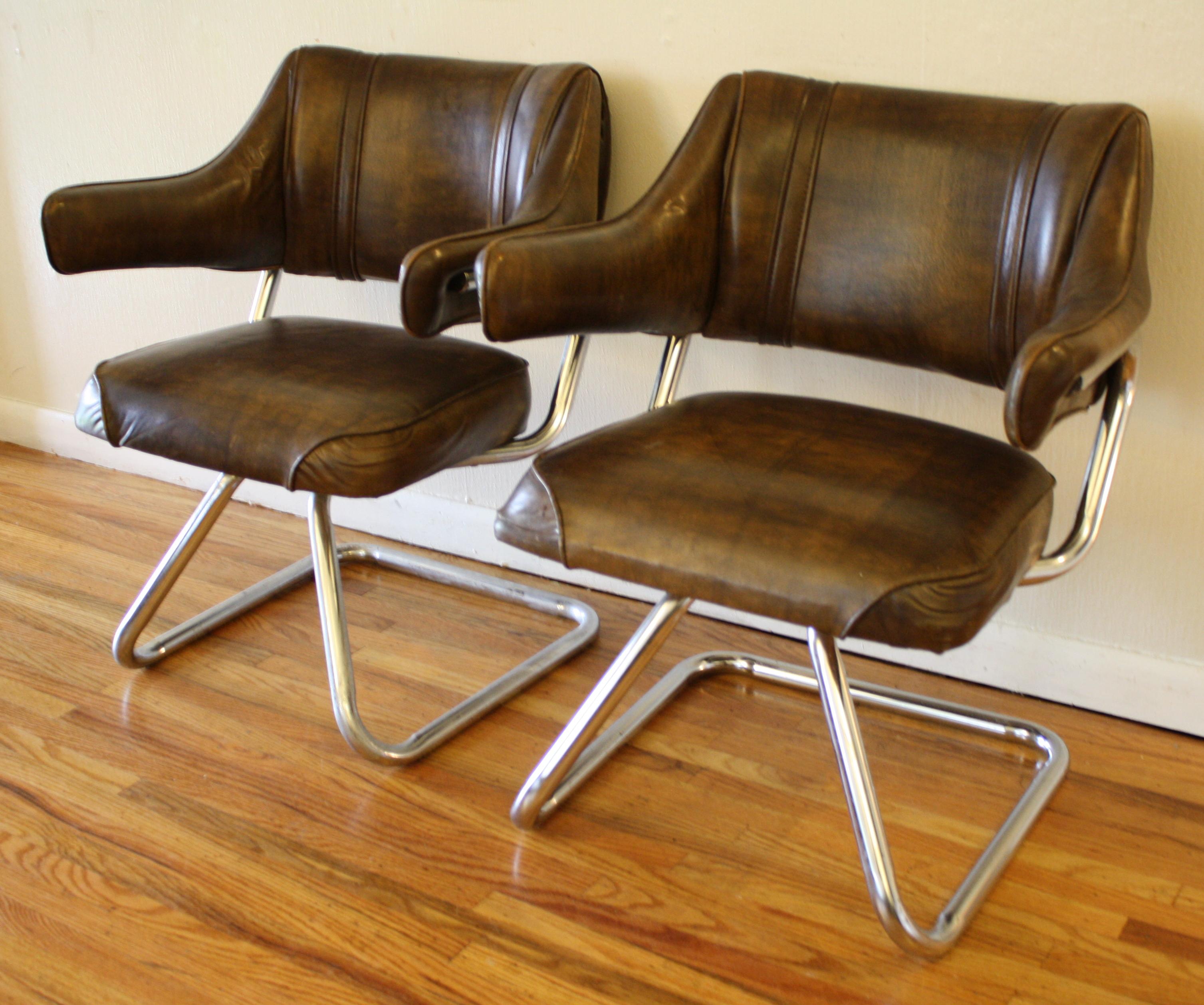 Beau Retro Chrome Chairs 1