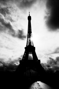 Tour Eiffel en Silhouette