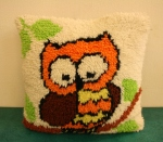 Vintage Owl Pillow