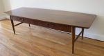 mcm lane table with drawer 3