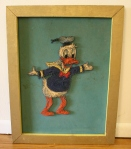 Vintage Donald Duck thread art