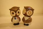 Vintage Japanese owl salt & pepper shakers