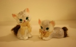 Vintage Japanese cat salt & pepper shakers