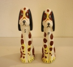 Vintage dog salt & pepper shakers