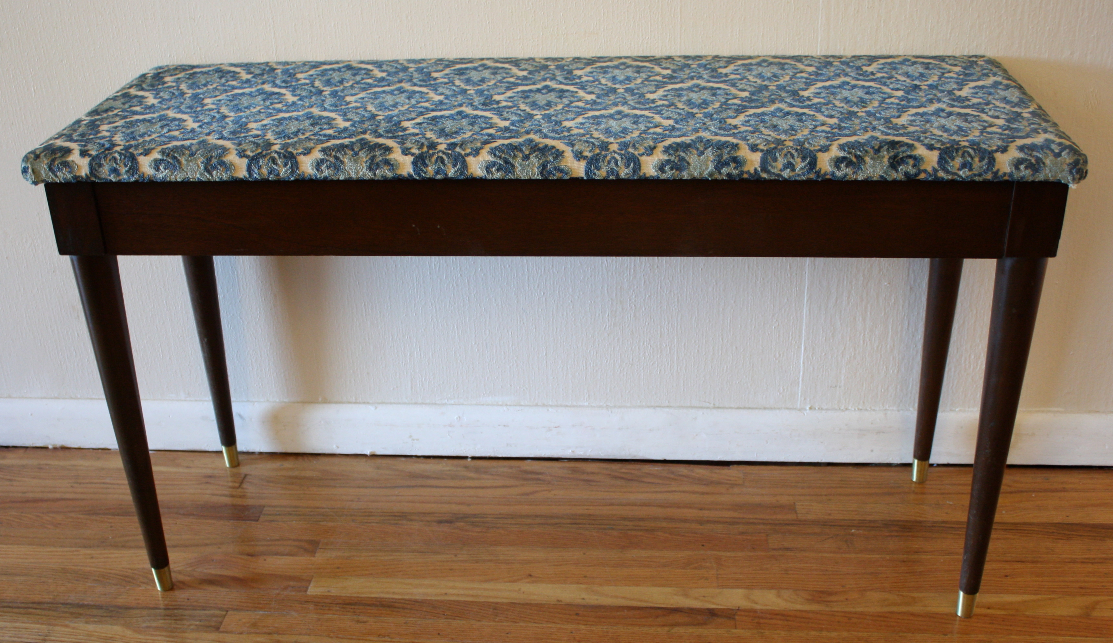 Mcm Piano Bench 2 Picked Vintage