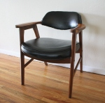 Mid century modern arm chair