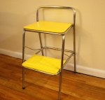 Vintage Cosco bar step stool